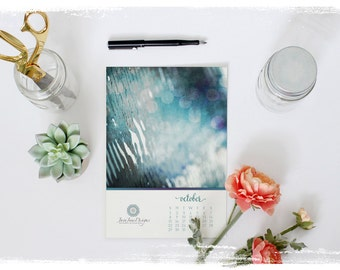 2017 Desk Calendar Photoshop TEMPLATE, Clean and Modern Design, Calendar Template, Client Gift or For Sale, Commercial Use, Instant Download