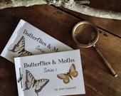 Series 1 ~ Buterflies and Moths Mini Book ~ Printable PDF Zine, Montessori, Educational, Natural History