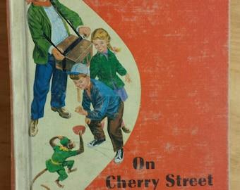 On Cherry Street Vintage School Reader Primer 1961