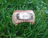 baseball cuff, baseball jewelry, baseball bracelet, baseball mom, monogrammed baseball jewelry, custom team jewelry, softball mom