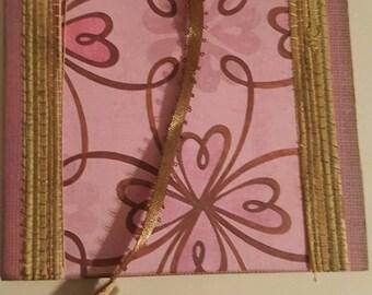 Magnetic Flower Blank Notecard