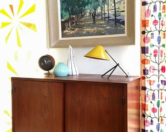 Free Shipping Early 1954 Florence Knoll Hanging Cabinet Mid Century Modern Credenza Buffet Sideboard