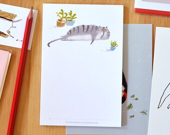 Cat Notepad - To-Do List - Cat Blank Notepad