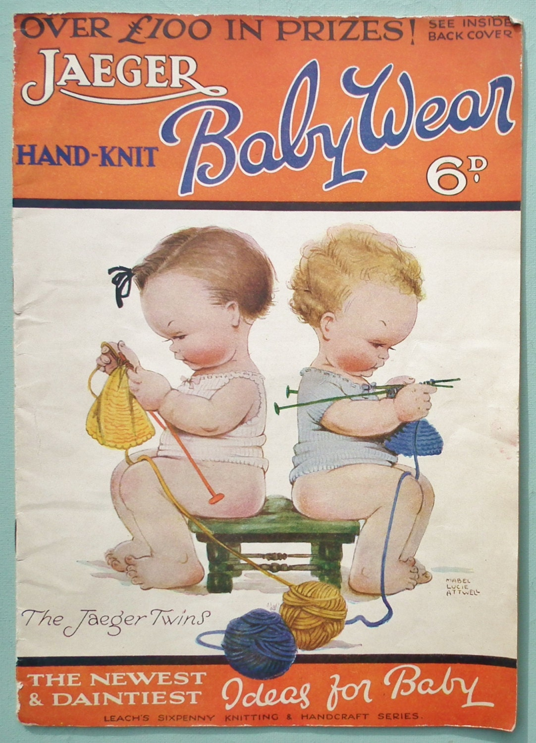 Jaeger hand knit baby wear mabel lucie attwell vintage 1930s description vintage 1930s knitting patterns bankloansurffo Images