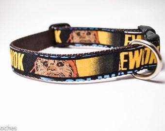 Ewok Star Wars Dog Collar