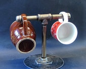 Iron & Steel Coffee Cup Holder