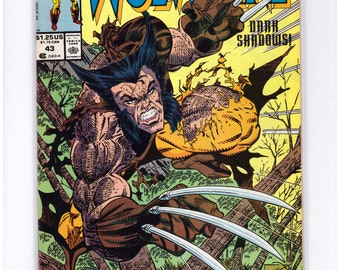 Issue 43 Wolverine Marvel Comics Presents in NM Condition 16-7-8