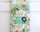 Wall or Door Hanging Organizer in a Multi Pocket Floral Design