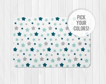 Star Rug, Custom Nursery Rug, Custom Kids Rug, Customized Stars Rug, Star Nursery Rug, Star Rug, Kids Room Rugs