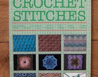 Vintage 1986/94 Harmony Guide to CROCHET STITCHES