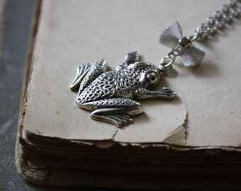 The Frog Prince - Fairy Tale Necklace