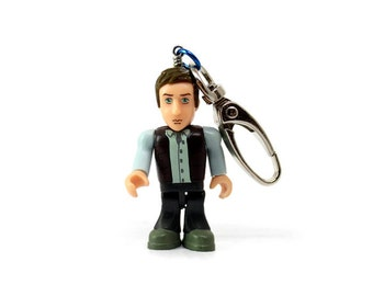Rory Williams Charm, Rory Keychain, Doctor Who Keychain, Whovian Keychain, Doctor Who Ornament