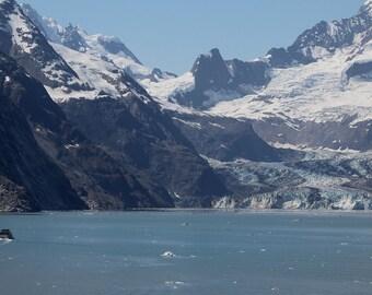 Johns Hopkins Glacier, Alaska Glacier Bay,  4 Downloadable Photos, Alaskan Glacier Photos