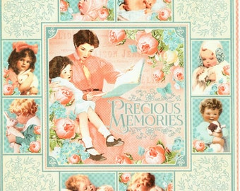 Graphic 45,  Precious Memories, Twenty Four 8x8 Double Sided Papers