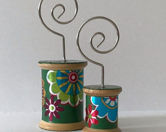 Flowers on Green - Cool Spools