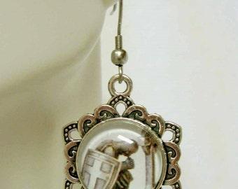 Knight templar earrings - AP03-202