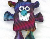 Motlee Beest - Motley by Imps and Pixies Wrap Scrap Monster Beast Pillow Plush