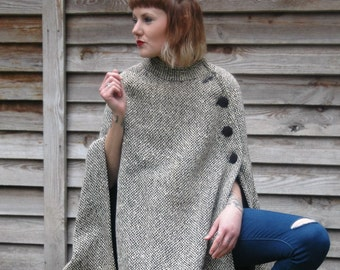 1960s Tweed Cape