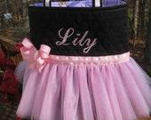 Personalized Ballet Pink Tutu Bag