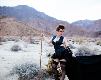 SARAH // Gown // Steampunk // Gothic // One of a kind