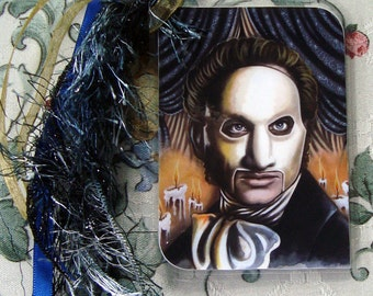 The Phantom of the Opera - Traditional Art - Laminated bookmark with ribbons