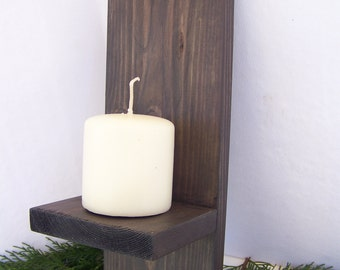 Pair Rustic Wall Sconce Candleholder Sconces Home Decor