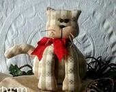 Handmade Primitive Cat