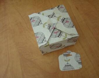Jolie boite cadeau fait main, gift box, handmade, cardstock, carton