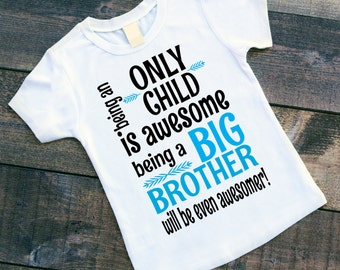 Being an Only Child is Awesome Being a Big Brother will be even Awesomer! - Pregnancy Announcement