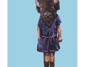 Little Buffalo - Print