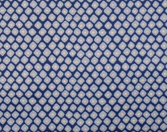 Light Blue Diamonds on Navy Background 100% Cotton Quilt Fabric Blender on Sale, Blossom FX23-2 from Fabric Freedom, Yardage