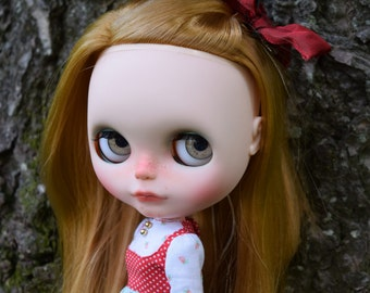 OOAK Custom Blythe Doll Face Up and Customized - Max