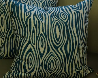 SALE - Willow (Aquaris) - Pillow Cover Only 20 x 20 - JD Designs