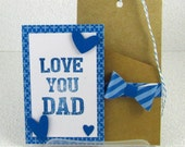 Fathers Day Gift Card Holder for Dad Happy Fathers Day Love You Dad Min Dads Day Card