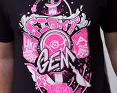 Steven Universe Shirt - Fight Like A Gem T-Shirt - Steven Universe T-Shirt - Crystal Gems T-Shirt - Rose Quartz Shirt