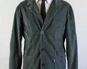 SALE - Vintage Levi's Gray Lightweight Corduroy Jacket - Mens Size Large
