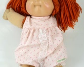 Original Dimple Freckles Cabbage Patch Kid Doll Vintage Collectible Xavier Roberts 1978 1982 Authentic Signed
