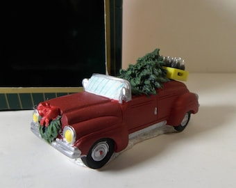 Coca-Cola Town Square Collection Item #64337 Convertible 1996 Collectible Christmas Village Coke Decoration