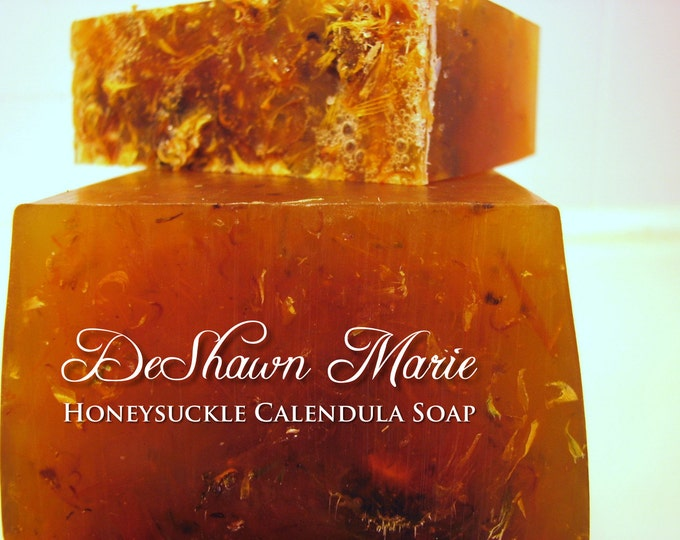 3LB Soap Loaf, Honeysuckle Calendula Soap Loaf, Vegan Handmade Soap, Wholesale Soap Loaves, Christmas Gift, Christmas Present