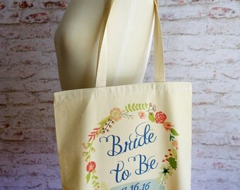 Bride to Be tote bag, Bride tote bag, Bride Bag, Wedding tote bag, Wedding, Future Mrs.