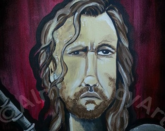 The Hound Limited Edition Print by Diana Almand