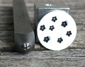 Tiny Star-Open Metal Stamp-1.5mm Size-Steel Stamp-New Metal Design Stamps-by Metal Supply Chick-DCH50