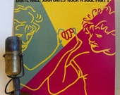 """Hall and Oates Vintage Vinyl Record White Boy Soul Album Hall & Oates Greatest Hits LP """"Rock N Soul Part 1"""" (1983 RCA w/""""Rich Girl"""""""