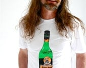 Fernet Branca shirt. men's t-shirt. gifts for men. fernet branca. graphic tee. bar t-shirt. booze traveler.  screen printed shirt.