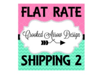 Flat Rate Ship Charge 2