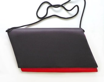 Black and Red Evening Bag