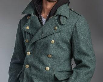 Swiss army coat | Etsy