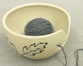 Contemporary Canadian Pottery Yarn Bowl