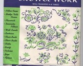 ELIZABETHAN EMBROIDERY #9001-A, #9001-B, #9001-C - Vogart Hot Iron Transfers - New and Uncut