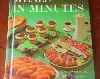 Better Homes & Gardens Meals in Minutes Cookbook